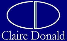 Claire Donald logo - Click for homepage